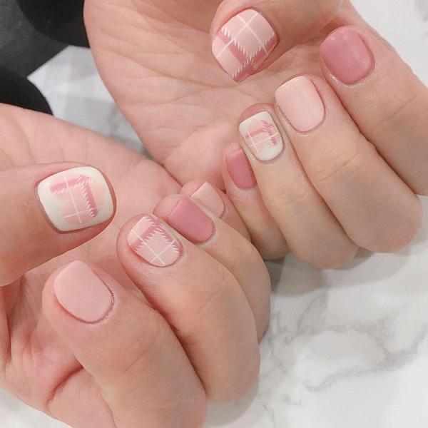 mẫu nail đẹp cho học sinh, sinh viên 023
