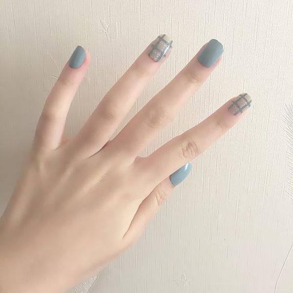 mẫu nail đẹp cho học sinh, sinh viên 003