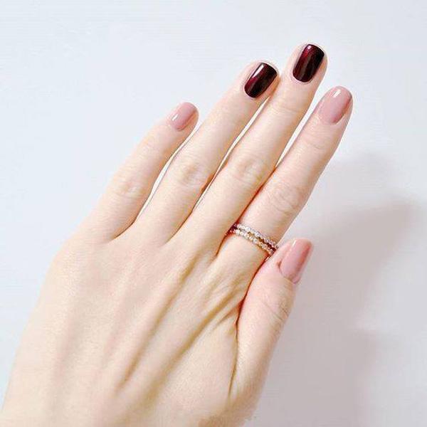 mẫu nail đẹp cho học sinh, sinh viên 004
