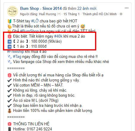 mẫu stt | content bán quần áo hay 010