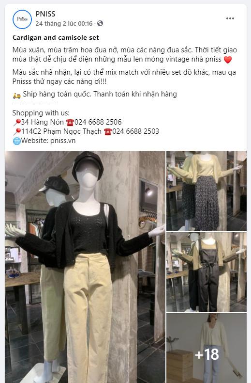 mẫu stt | content bán quần áo hay 06