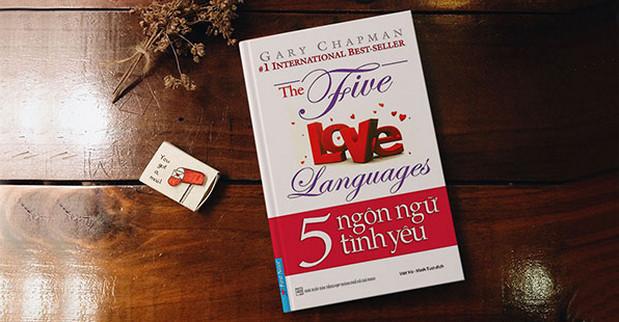 sách hay về tình yêu: 5 ngôn ngữ tình yêu