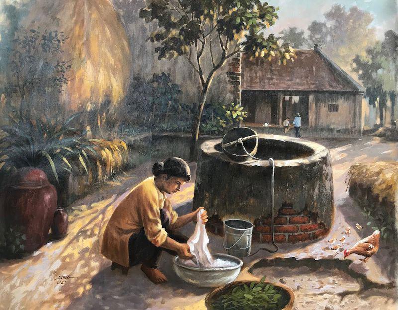 Hình ảnh làng quê Việt Nam 010