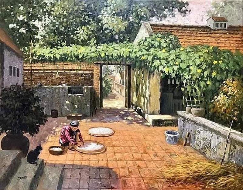 Hình ảnh làng quê Việt Nam 013