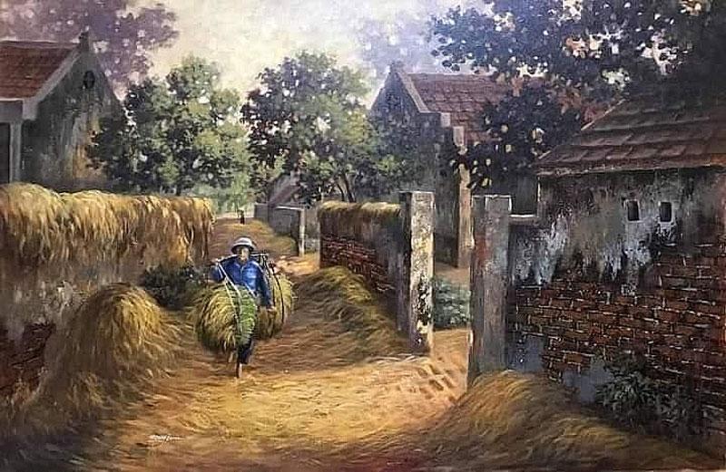 Hình ảnh làng quê Việt Nam 016