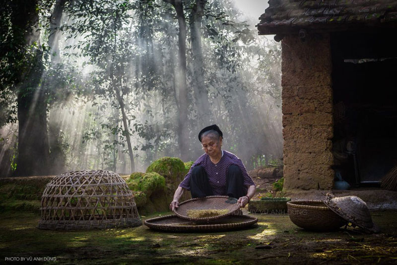 Hình ảnh làng quê Việt Nam 034