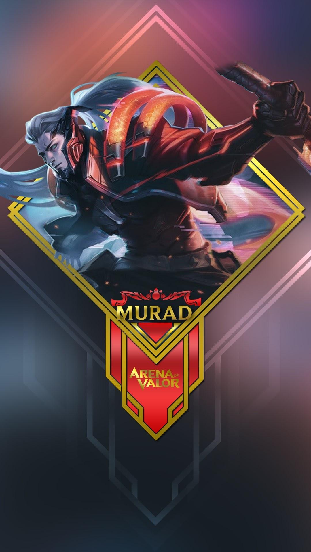 Hình nền liên quân Mobile cho điện thoại - Tướng Murad