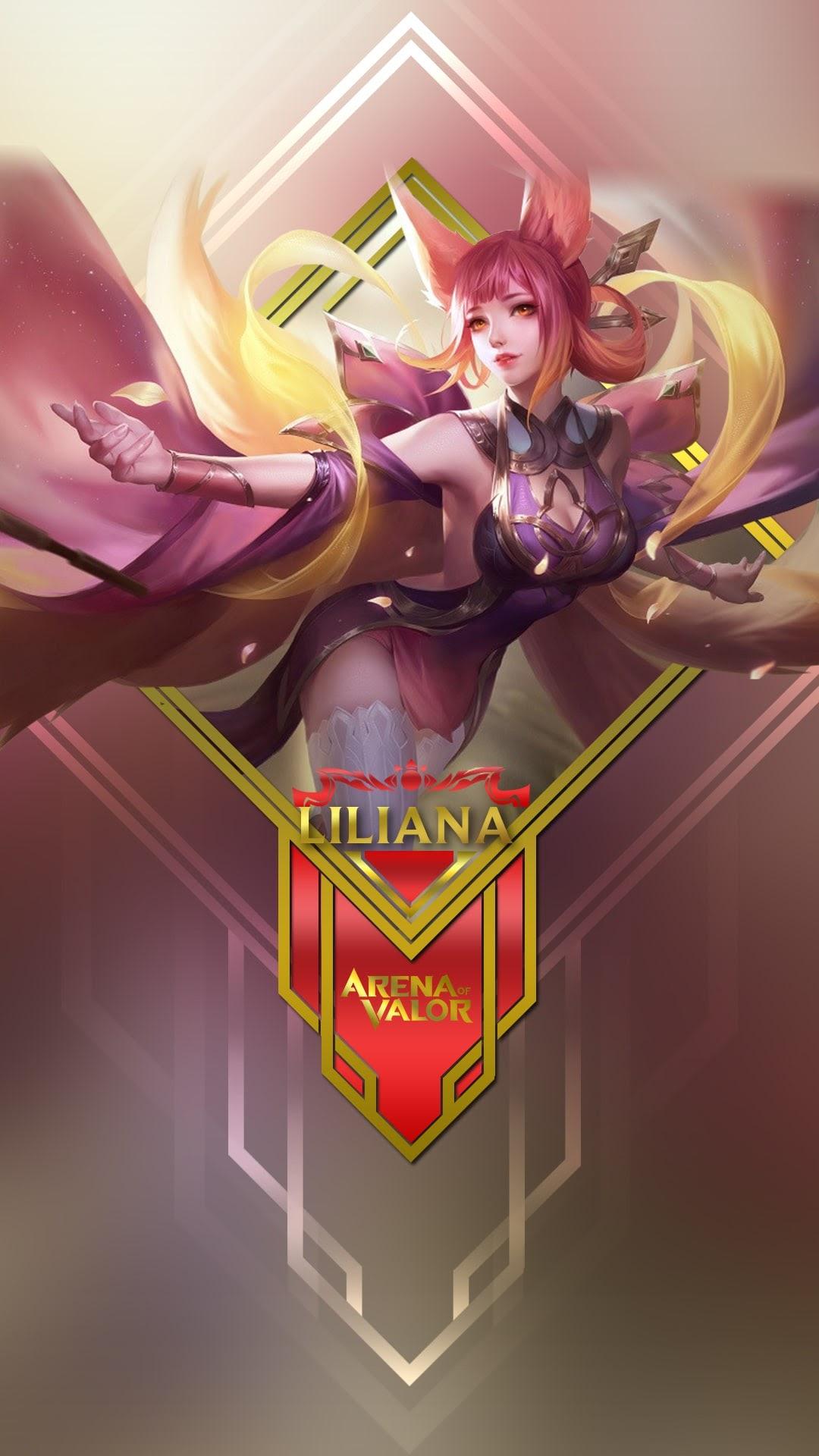 Hình nền liên quân Mobile cho điện thoại - Tướng Liliana