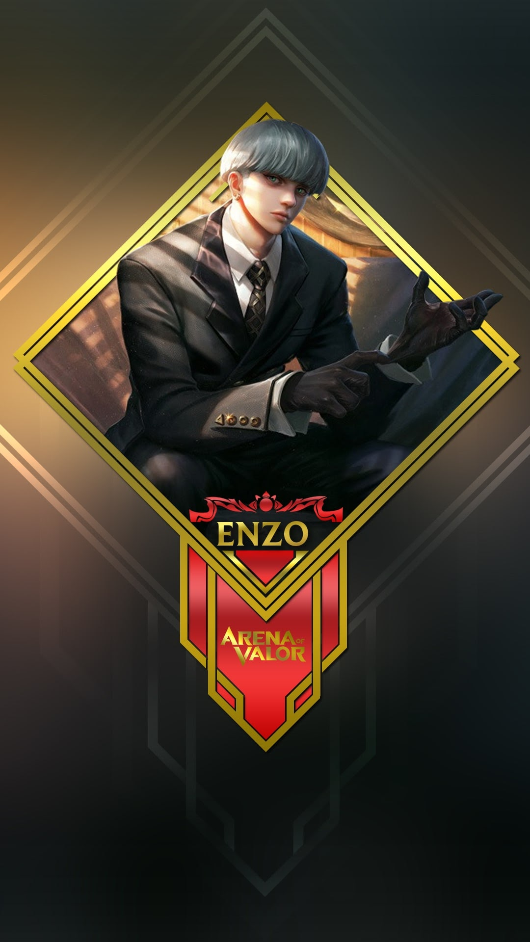 Hình nền liên quân Mobile cho điện thoại - Tướng Enzo