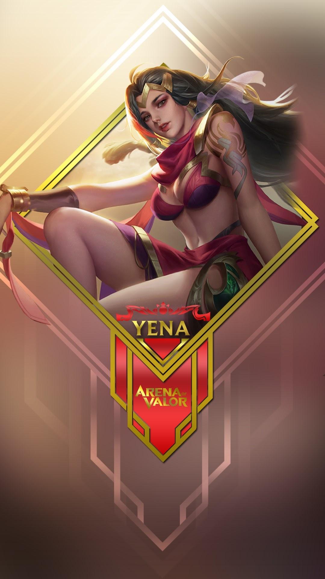 Hình nền liên quân Mobile cho điện thoại - Tướng Yena