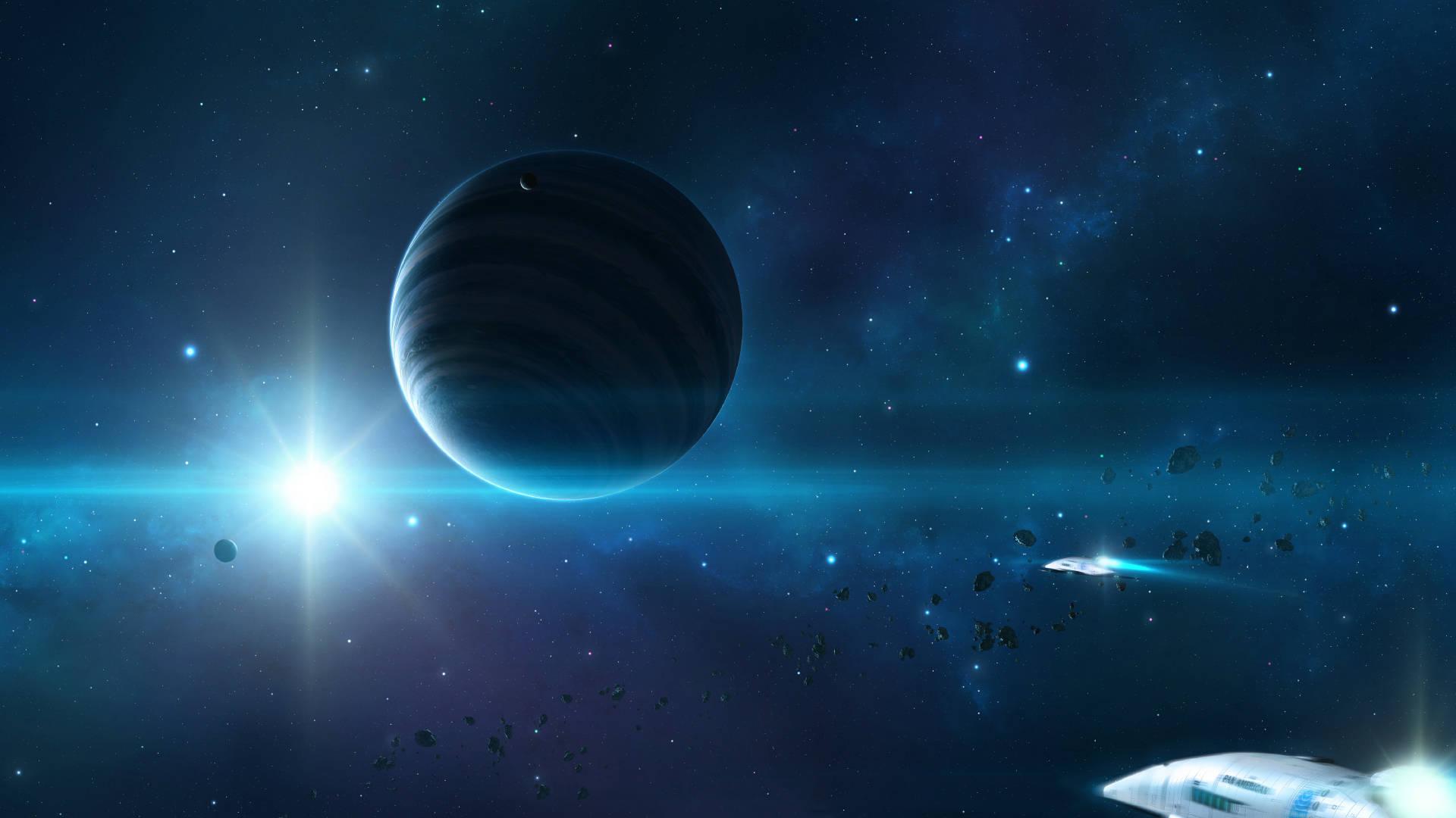 hình nền vũ trụ huyền ảo 02
