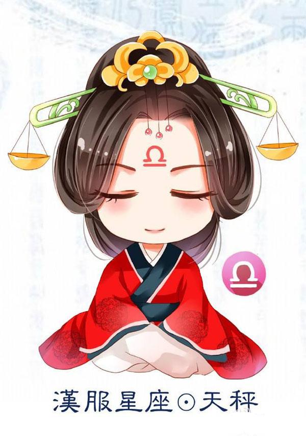 Ảnh chibi cung Thiên Bình 01