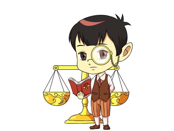 Ảnh chibi cung Thiên Bình 03