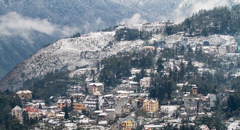 hình ảnh sapa vào mùa đông