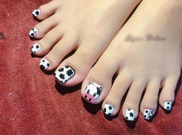 Mẫu móng chân bò sữa 02