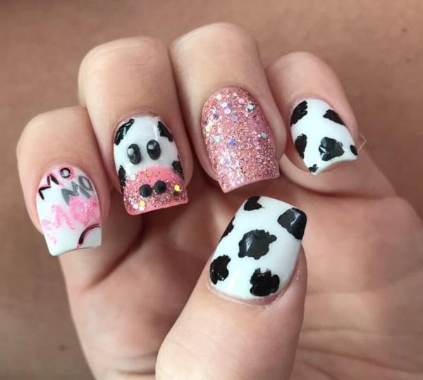 Mẫu nail bò sữa dễ thương nhất 04